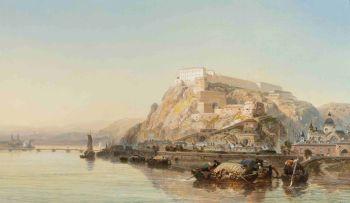 James Webb; Ehrenbreitstein on the Rhine