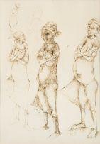 Dumile Feni; Studies of a Woman