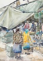 Durant Sihlali; The Market Place