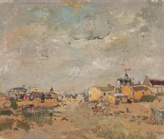 Gregoire Boonzaier; Houses on the Cape Flats