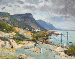 Terence McCaw; Looking Towards Glencairn from the Bottom of Red Hill Road, Simonstown