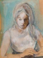 Jean Welz; Portrait of Anne Riekert