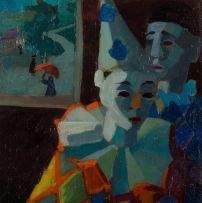 Marjorie Wallace; Two Harlequins