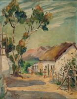 Emily Isabel Fern; Old Houses, Tulbagh C.P
