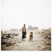 Pieter Hugo; Mallam Umaru Ahmadu with Amita, Abuja, Nigeria