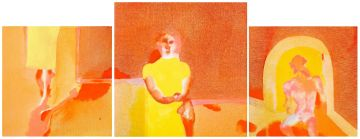 Robert Hodgins; Lyric Suite, triptych