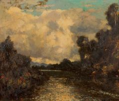 Edward Roworth; River at George