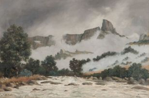 Cathcart William Methven; Mount-aux-Sources, Natal National Park, Drakensberg