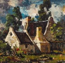 Otto Klar; Cape Dutch Cottage