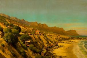 Tinus de Jongh; The Twelve Apostles from Clifton