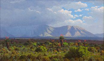 Jan Ernst Abraham Volschenk; A Coming Thunder Storm