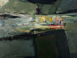 Nils Burwitz; Abstract Landscape
