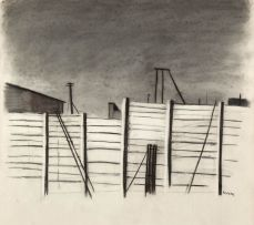 William Kentridge; Preparatory Sketch for Woycek on the Highveld