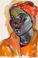 Irma Stern; Young Swazi Woman