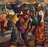 Hennie Niemann Jnr; Beach Market, Vilanculos, Mozambique