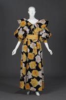 A pure silk gazar evening blouse and full length skirt