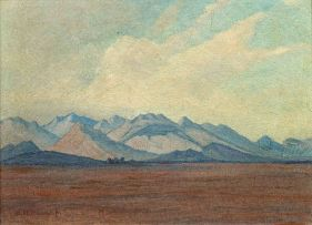 Jacob Hendrik Pierneef; Mountain Landscape