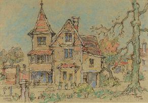 Gregoire Boonzaier; Die Spookhuis, Wynberg, Kaap