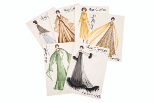 A collection of designs for South African opera singer, Mimi Coertse's various gala events