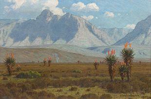 Jan Ernst Abraham Volschenk; Mozambiquerskop, Riversdale