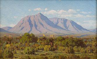 Jan Ernst Abraham Volschenk; Landscape