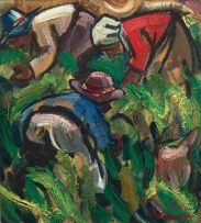 Hennie Niemann Snr; Harvesting