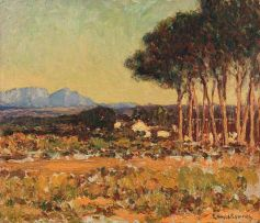 Edward Roworth; Cape Landscape