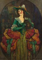 John Henry Amshewitz; Isobel McLaren as Donna Clara in The Duenna