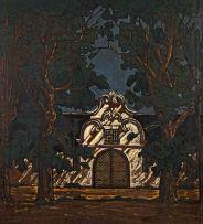 Jacob Hendrik Pierneef; Die Wynkelder