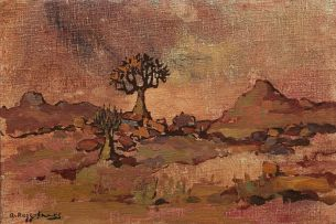 Alexander Rose-Innes; Landscape with Quiver Trees
