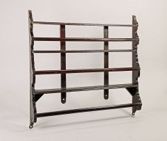 A Cape yellowwood plate rack, first half 18th century