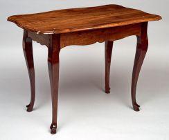 A Cape stinkwood rococo style centre table, 18th century
