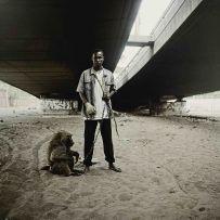 Pieter Hugo; Animal Handler with Ajusco, Lagos, Nigeria, 2007