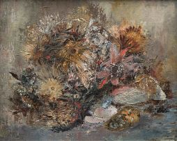 Cecil Higgs; Dried Proteas, Shells, Things (III)