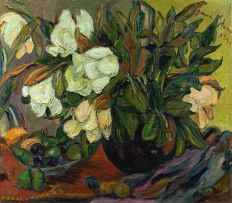 Irma Stern; Magnolias and Fruit