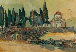 Alexander Podlashuc; Die Priester se Bokkraal, Samos, Griekeland