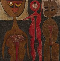 Cecil Skotnes; Three Figures