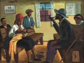 George Milwa Mnyaluza Pemba; The Waiting Room