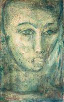 Alexis Preller; Blue Portrait