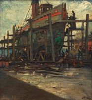 Dorothy Kay; Overhauling the tug