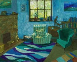 Marjorie Wallace; Marjorie and Jan's Sitting Room