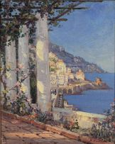 Hugo Naudé; Amalfi, Italy
