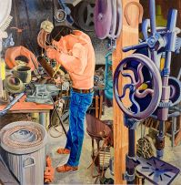 Marianne Podlashuc; In the Workshop