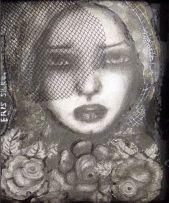 Eris Silke; Lady in Net Hat