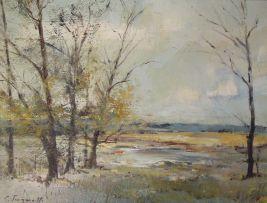 Christopher Tugwell; Autumnal Landscape