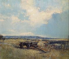 Christopher Tugwell; Figures and a Wagon