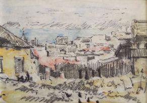 Nita Spilhaus; View of Table Bay