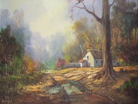 Gabriel de Jongh; After the Rain, Banhoek