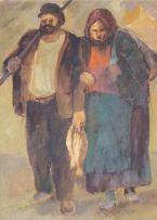 Amos Langdown; Fisher Folk
