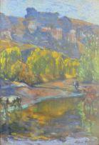 Alfred Palmer; Drakensberg Scene